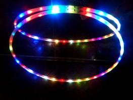 hula hula hoop de luces malabares Onirika