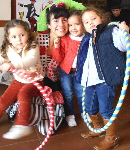 circo en cumplaños infantiles