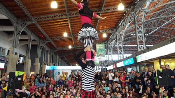 animacion con circo uruguay