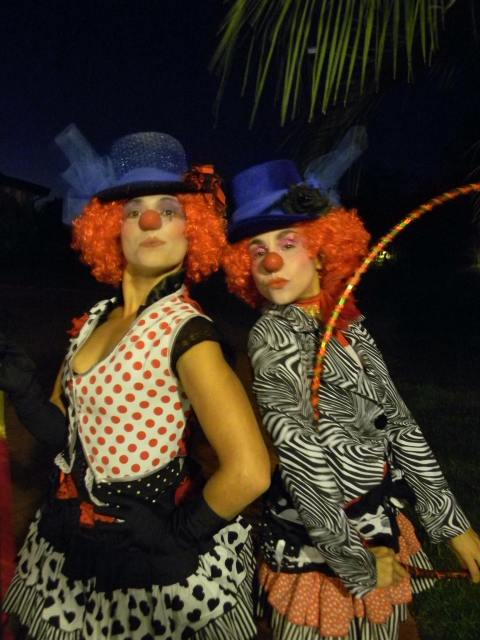 hermanas lumiere clowns